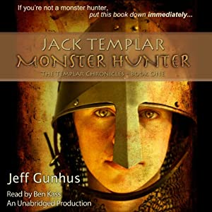 Jack Templar Monster Hunter Audiobook