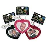 Always in my Heart Photo Holder Keychain