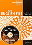 New English file upper intermediate teacher's book with test and assessment CD-ROM