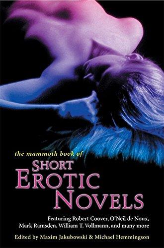 Mammoth Book Of Short Erotic Novels