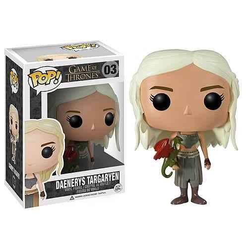 Game of Thrones Daenerys Targaryen Exclusive Pop! Vinyl Figure Dc Comics Urban GOT - 1