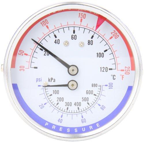 Trerice PTC14603 Rear Stem Tridicator, 1/2