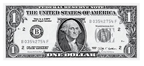 The-Gags-Educational-Products-Set-of-144-Jumbo-Real-Looking-Fake-Play-Money-ONE-DOLLAR-BILLS