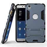1+ X Case,EVERGREENBUYING Slim Lightweight 2in1 ONE E1001 Cases Hybrid with Soft Rugged TPU Inner Skin and Hard PC Anti Scratches Protective Cover for OnePlus X (Sapphire+Black)