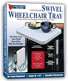 Nah Swivel Wheelchair Tray (Pack Of 12)