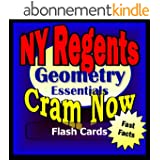 NY Regents Prep Test GEOMETRY Flash Cards--CRAM NOW!--Regents Exam Review Book & Study Guide (NY Regents Cram Now! 6) (English Edition)