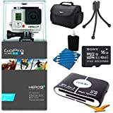 GoPro Camera HD HERO3+: Silver Edition Deluxe Kit