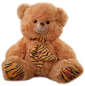 Play n Pets PNP-3307 Bear with Scarf 28cm (Small)