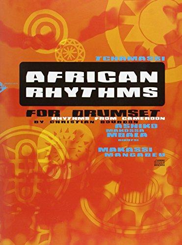 African Rhythms for Drumset: Rhythms from Cameroon. Schlagzeug. Lehrbuch mit CD