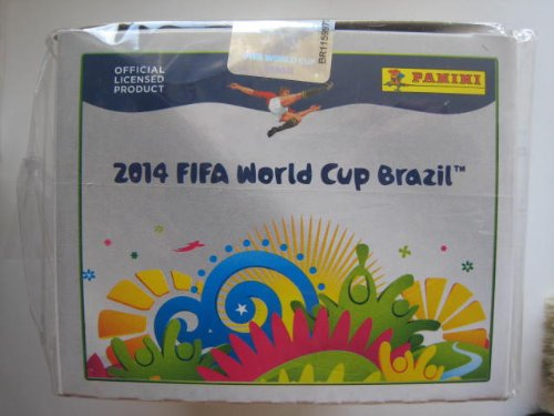 PANINI BRAZIL STICKERS BOX 100 Packs FIFA World Cup Brasil 2014