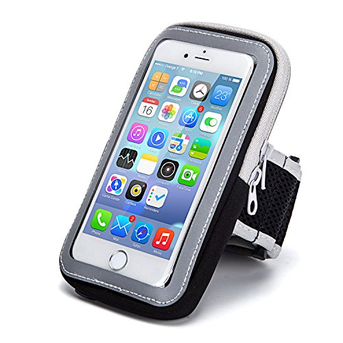 iphone7 Armband,Outdoor Sports Arm Package Bag Cell Phone Bag Key Holder For iphone 6 6s 5s 5c se iPod Touch (Black) (Package Band compare prices)