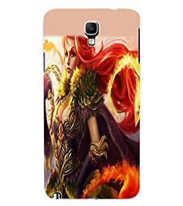 ColourCraft Girl Design Back Case Cover for SAMSUNG GALAXY NOTE 3 NEO N7505