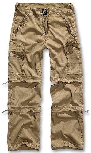 Brandit-Savannah-Herren-Zip-Hose-Camel-XL