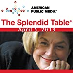 The Splendid Table, Mary Roach, April 5, 2013 | Lynne Rossetto Kasper