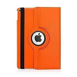 Ipad Mini Case, Ipad Mini 2/3 Case, Getaria Pu Leather Stand Case with Auto Sleep/wake Function for Apple Ipad Mini 1/2/3 (Orange)