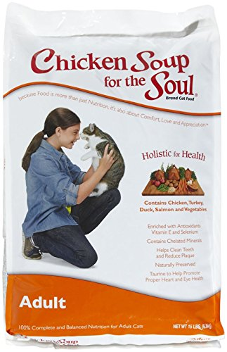 Chicken Soup for the Soul Adult Cat 15lb (Chicken Soup Cat compare prices)