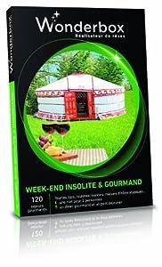 WONDERBOX - Coffret cadeau - WEEK-END INSOLITE & GOURMAND