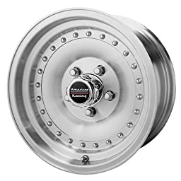 American Racing Custom Wheels AR61 Outlaw I Machined Wheel With Clearcoat (15x7\