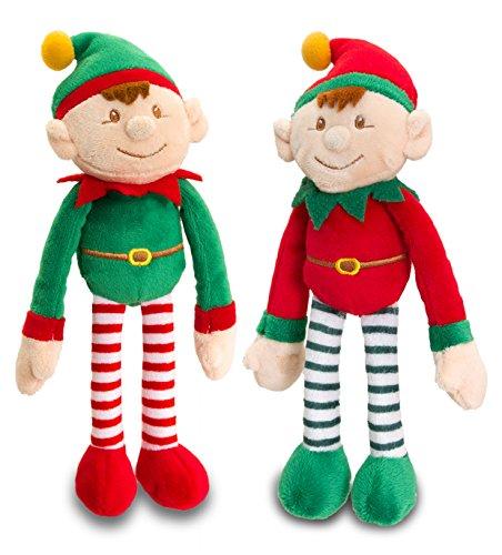 dangle-elf-set-of-2-25cm-plush-soft-toy