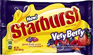 Starburst Very Berry Candy, 14 Ounce