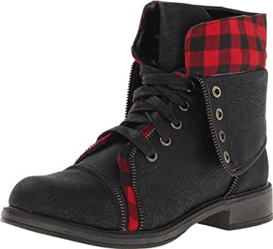 Amazon.com: Skechers Women's Awol-Cute Combat Boot: Shoes