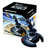Thrustmaster T.Flight Stick X PC Manette Flight Simulator pour PC 12 Boutonspar Thrustmaster