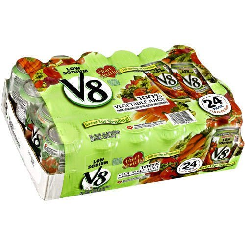 V8 Vegetable Juice - 24/11.5 oz. cans - CASE PACK OF 4