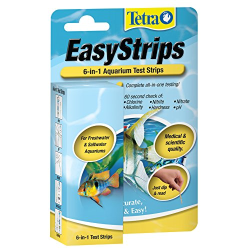 Tetra 19542 EasyStrips 6-in-1 Test Strips, 25-Count (Fish Tank Test compare prices)