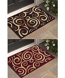 Athom Trendz- Modern Living- Small- Set of 2 Doormats- 37x57cm