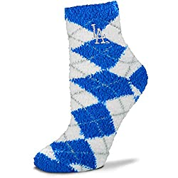 Los Angeles Dodgers 109 Argyle Mens Sleepsoft Socks