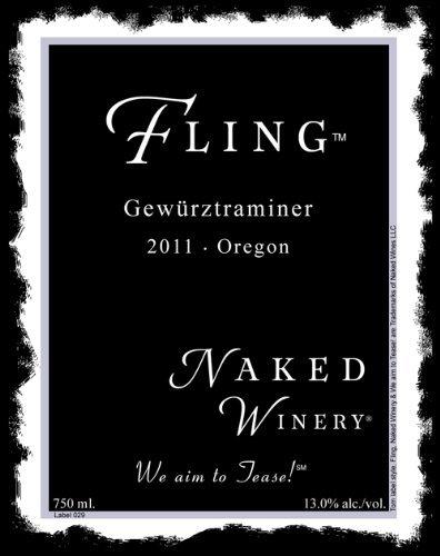 2011 Naked Winery Fling Gewürztraminer 750 Ml