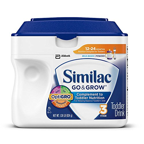 Similac Go & Grow Milk-based Complete Toddler Nutrition, Powder / 1.37 Lb Simplepac / Pack of 4/packaging May Vary - 1