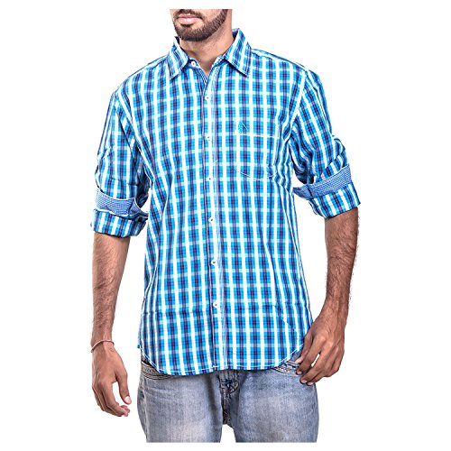 Polo Urban Polo Club Men's Blue Shirt - Full Sleeve