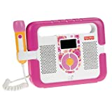 Fisher-Price Kid-Tough Music Player with Microphone - Pink ~ Fisher-Price