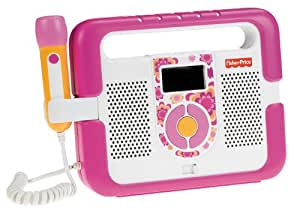 Fisher-Price Kid-Tough Music Player with Microphone - Pink
