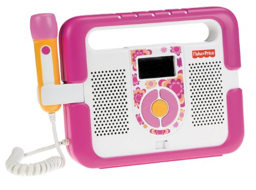 Mattel T5269 - Fisher-Price MP3 Player, rosa
