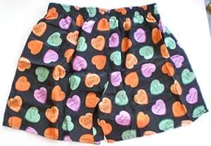 (L) LOVE BIG HEART Boxers Boxer Boxershort Shorts Underwear Men Woman Girl Boy