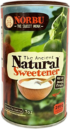 Natvia Norbu The Ancient Natural Sweetener 7 Ounce (Pack Of 4)