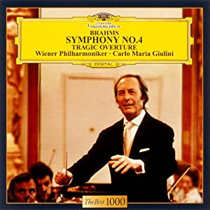 Carlo Maria Giulini / Vienna Philharmonic Orchestra - Brahms: Symphony No.4 / Tragic Overture [Japan LTD CD] UCCG-5039
