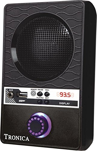 Tronica-BLACK-NOMAD-MP3FMMOBILE-SPEAKER-WITH-RECHARGEABLE-BATTERY