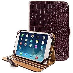 Vg-Gear Tablet Folio Case (Croco Burgundy)