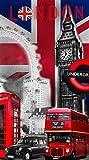 DRAP DE PLAGE LONDON
