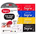 Sugru Moldable Glue - Classic Multi-Color (Pack of 8)