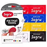 Sugru Moldable Glue - Classic Multi-Color (Pack of 8) cover image