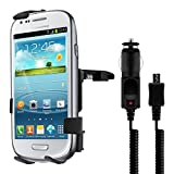 Car vent mount + charger micro USB for Samsung Galaxy S3 i9000 Ace 2 3 S4 mini S3 mini i8190 S2 i9100 / Huawei Ascend Y300 / HTC Desire C One S V X XL / Nokia Lumia 820 900 920 / Sony Xperia U Arc S