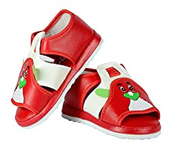 FabSeasons Unisex Red Sandals for Kids