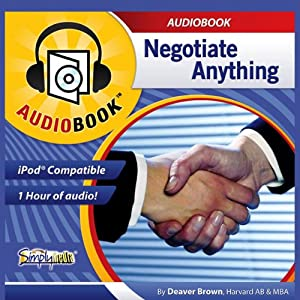 Negotiate Anything Audiobook