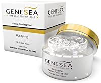 Dead Sea Facial Peeling Gel Infused with Chamomile and Aloe Vera Extracts for the Most Gentle Exfoliation - Deep Sea Purifying Sensation - By Genesea from Genesea