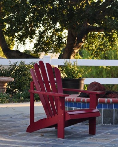 Westport Adirondack Chair - Cherry Red (Cherry Red) (36