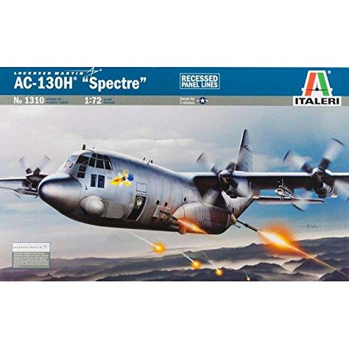 AC-130H Spectre Gunship Aircraft 1/72 Italeri (Ac 130 Gunship Model compare prices)